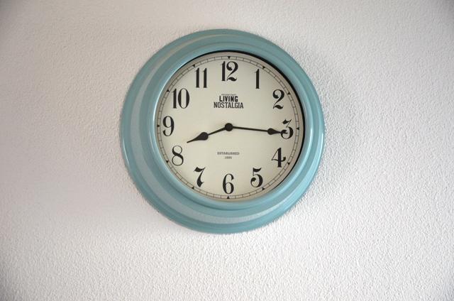 nástenné vintage hodiny - Obrázok č. 1