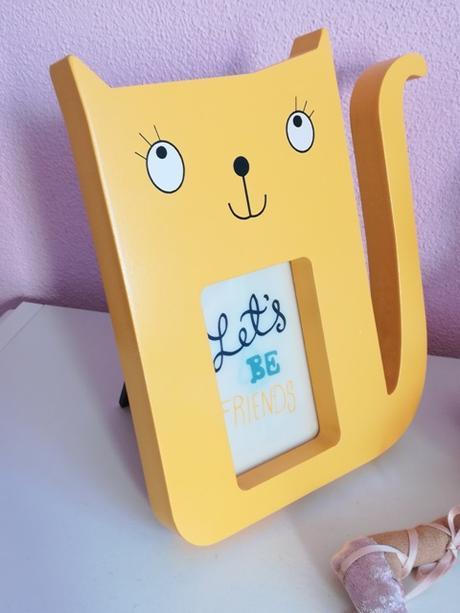 drevený mačičkový fotorám - Obrázok č. 1
