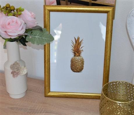 obraz zaltý ananás - Obrázok č. 1