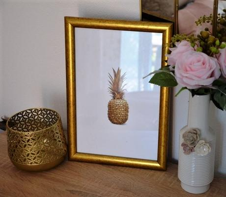 obraz zaltý ananás - Obrázok č. 3