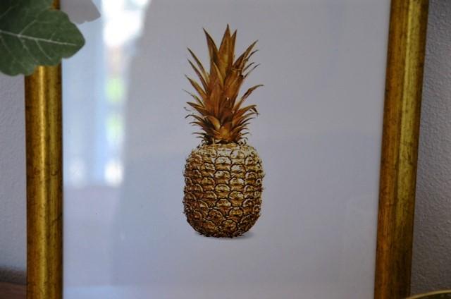 obraz zaltý ananás - Obrázok č. 4