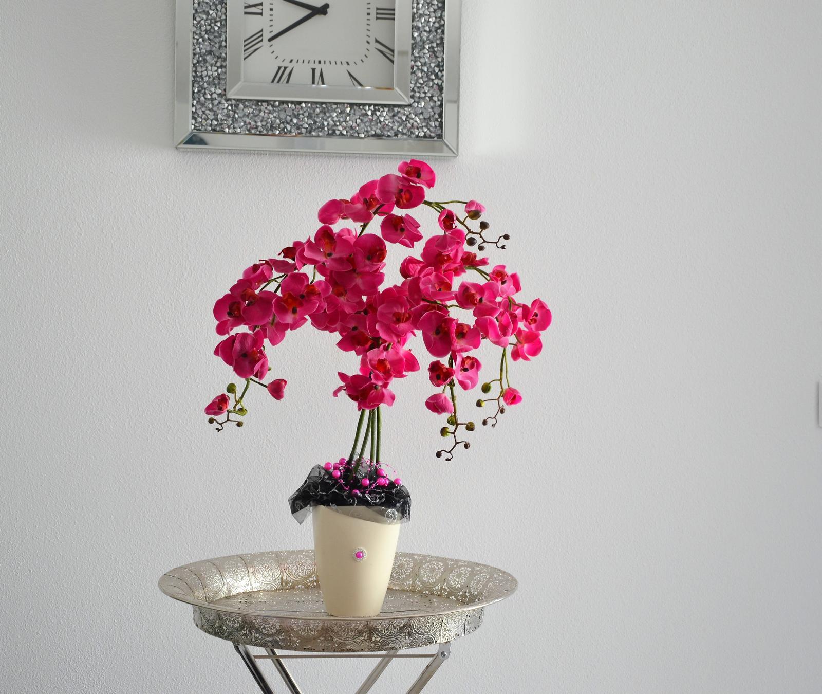 dekorácia orchidea - Obrázok č. 2