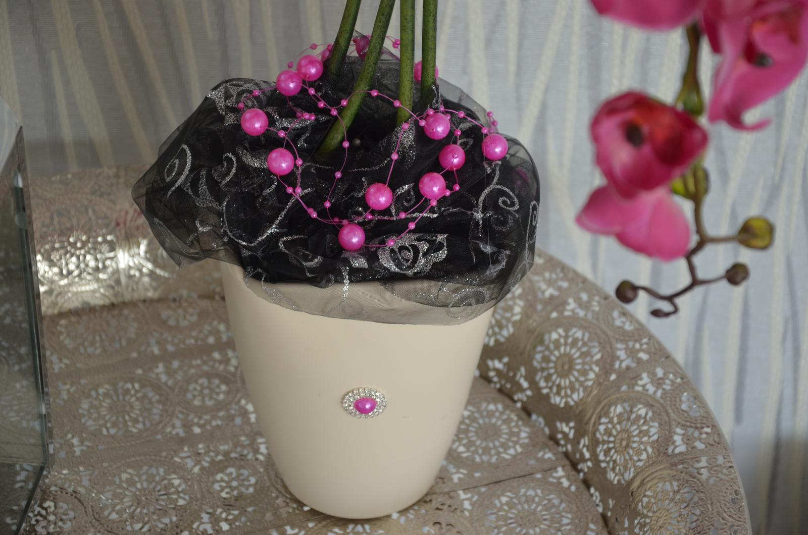 dekorácia orchidea - Obrázok č. 4