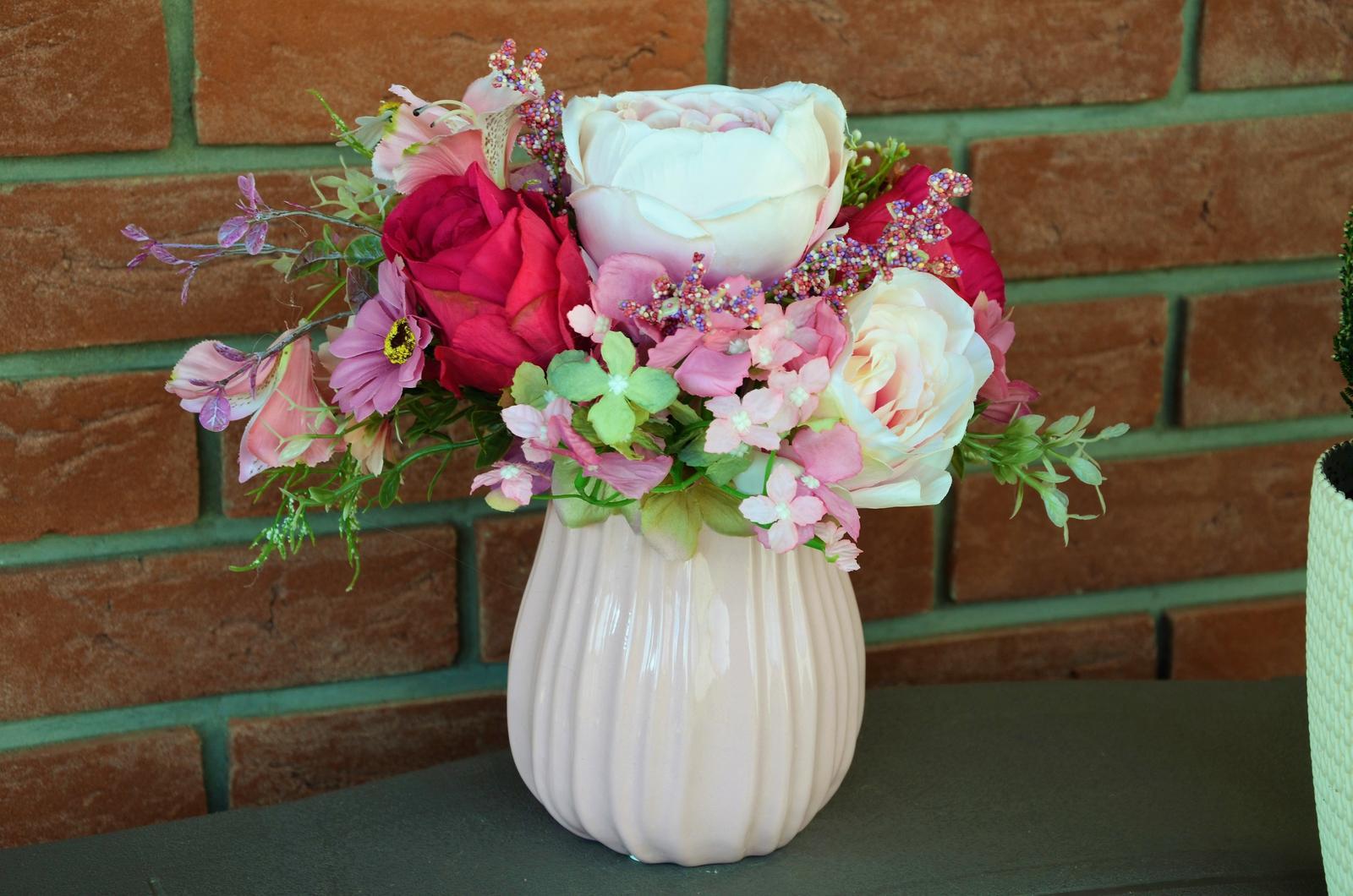 lúčne kvety vo váye-dekorácia - Obrázok č. 2