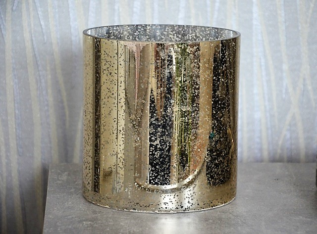 sklenený zlatý kvetináč - Obrázok č. 2