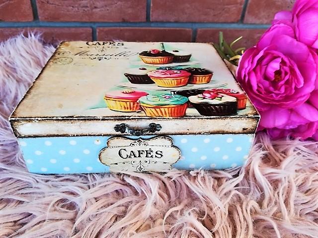 muffinová krabica na čaj - Obrázok č. 1