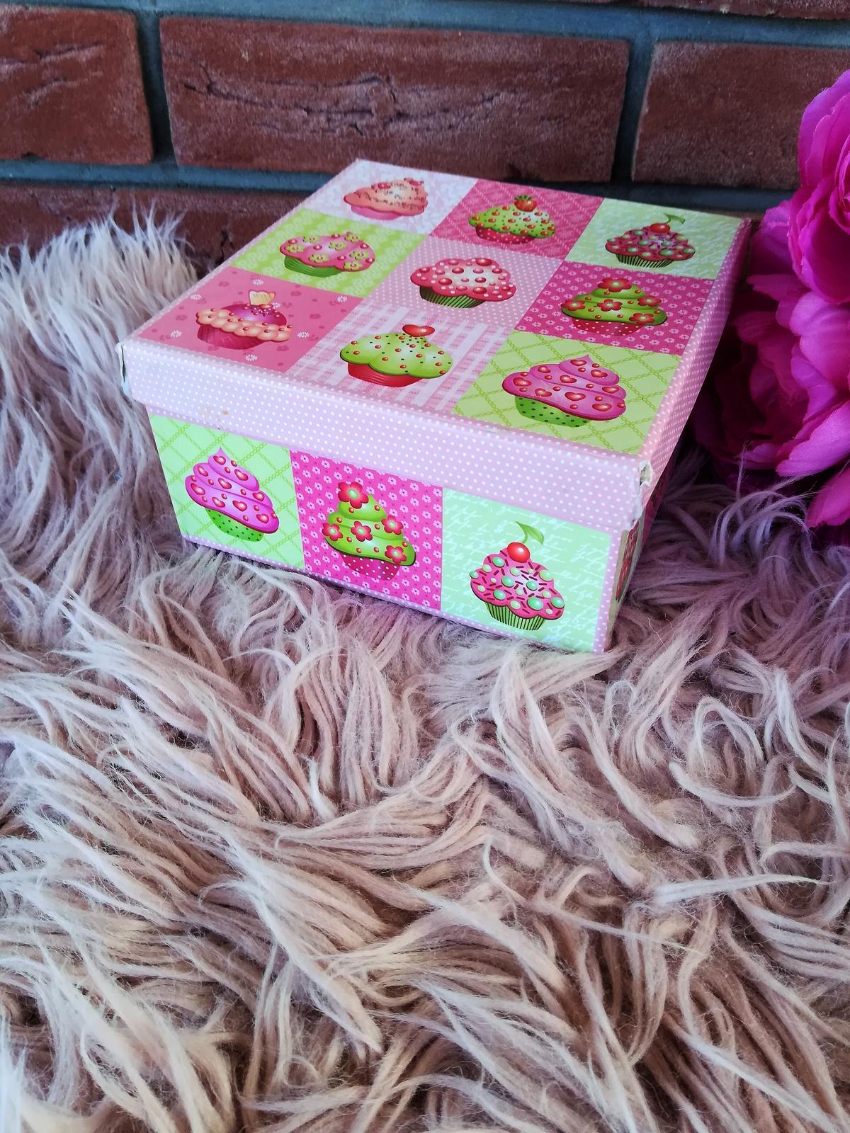 krabička muffin - Obrázok č. 1