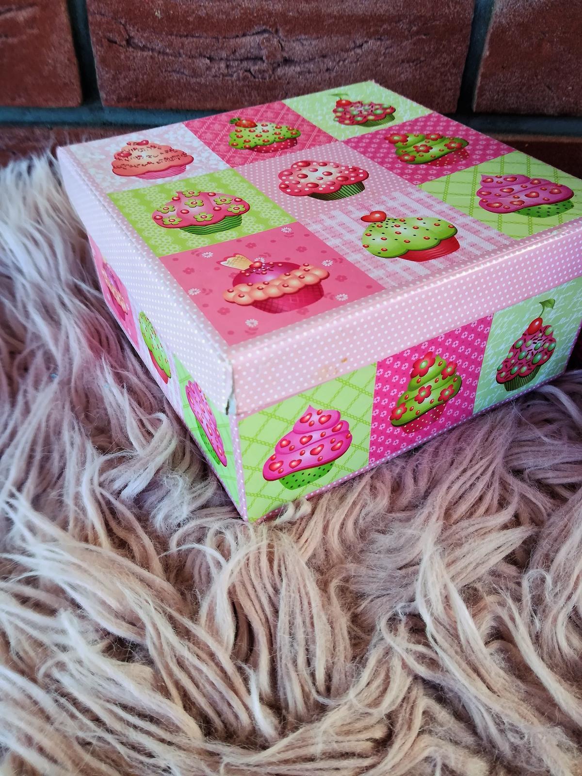 krabička muffin - Obrázok č. 2