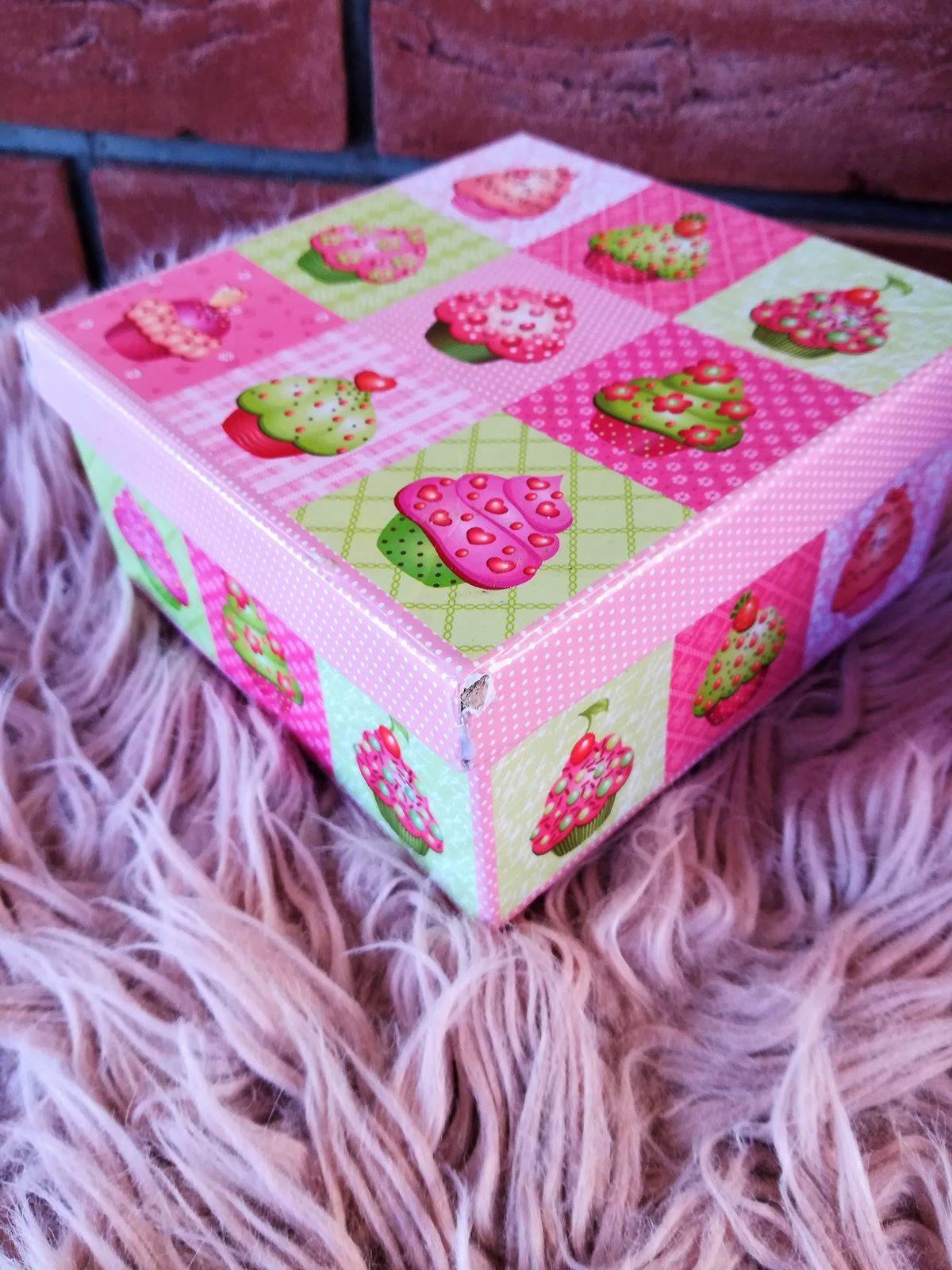krabička muffin - Obrázok č. 3