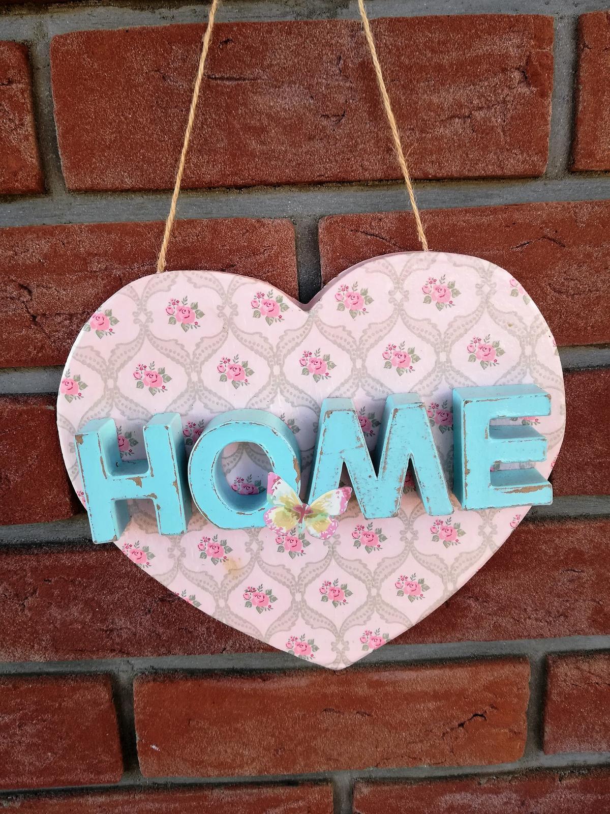 dekorácia srdce-home - Obrázok č. 1