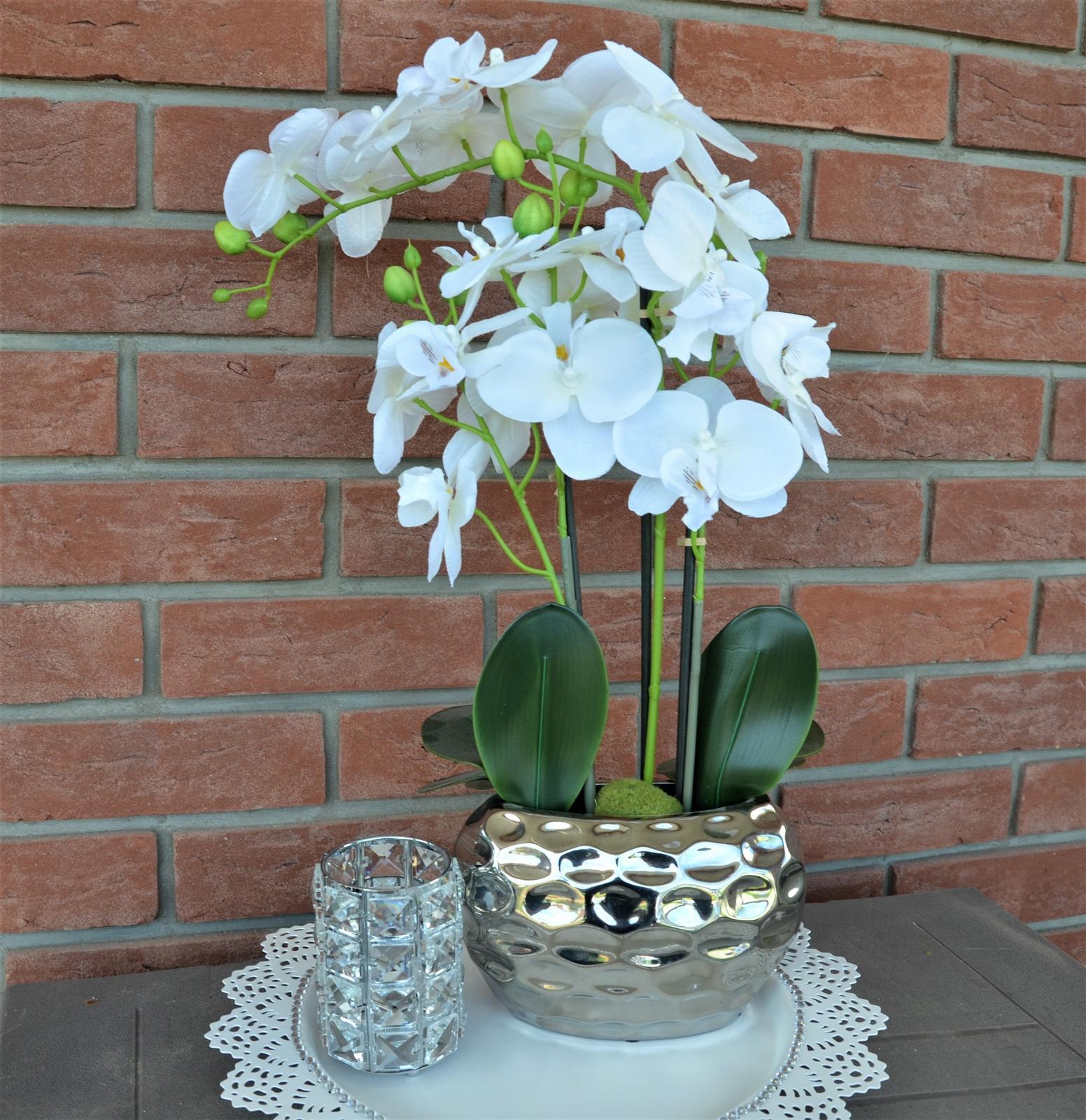 dekorácia orchidea - Obrázok č. 1