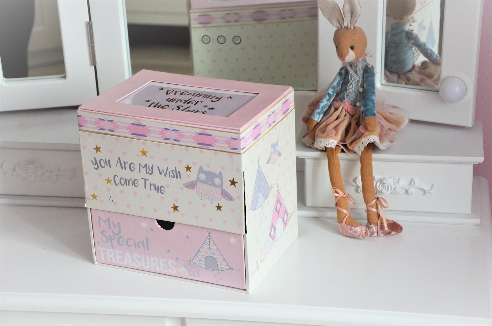 úložná dekoračná škatuľa - Obrázok č. 1