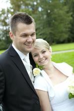 Svatební den byl pro nás dokonalý