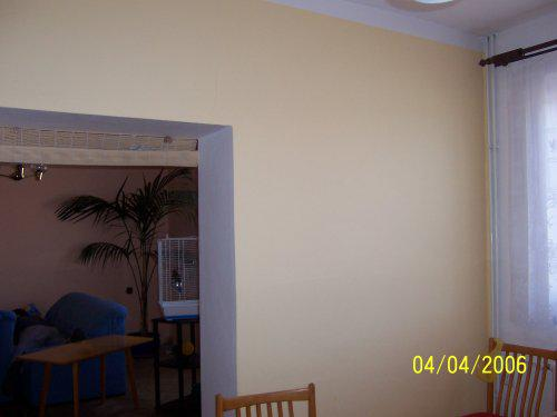 Tahle zeď stála mezi obývákem a kuchyní,náš sen bylo,nemít jí tam