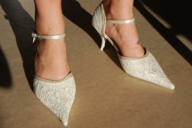 Maťa Horniakova a Patrik Špaňo - moje svadobné topanočky