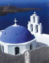 Santorini - plánovaná svatební cesta