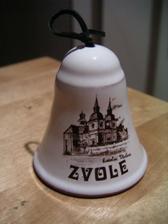 zvoneček na památku od pana faráře