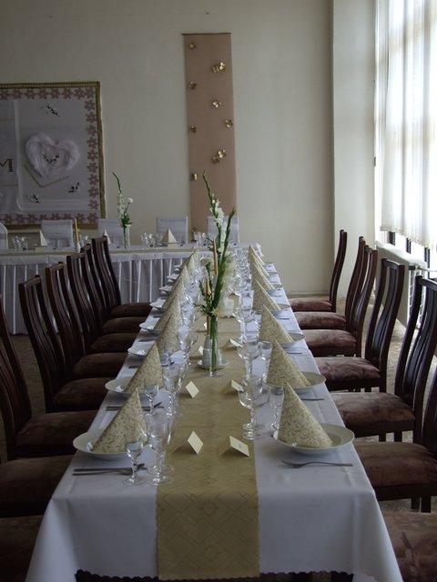 Martinka{{_AND_}}Michal - Vyzdoba stolov