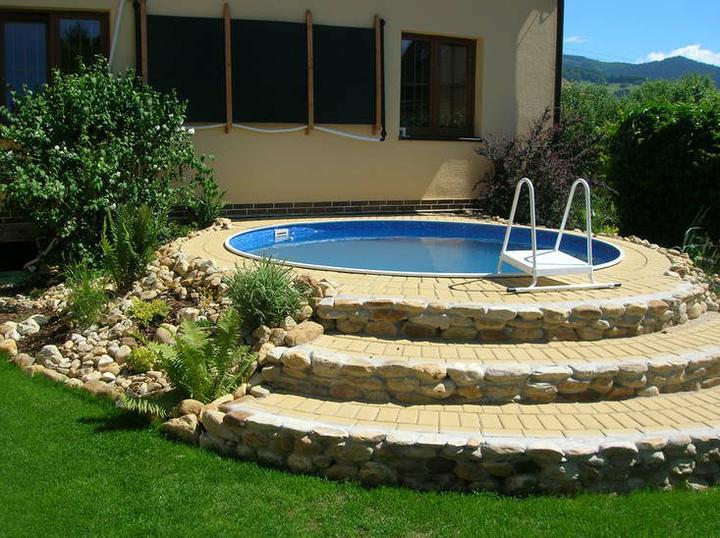 Zatiaľ len inšpirácie - a takýto bazén