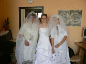 falešné nevěsty a já :-)