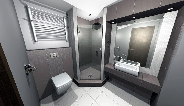 3D návrh kúpelní - Obrázok č. 7