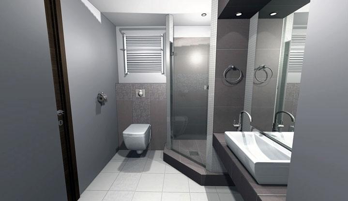 3D návrh kúpelní - Obrázok č. 10