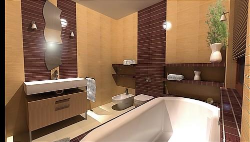 3D návrh kúpelní - Obrázok č. 16