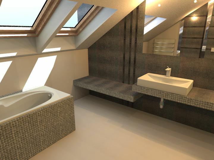 3D návrh kúpelní - Obrázok č. 23