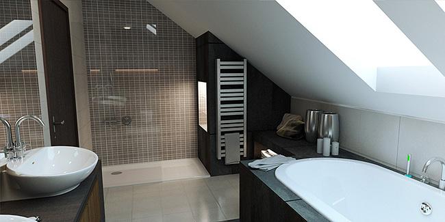 3D návrh kúpelní - Obrázok č. 27