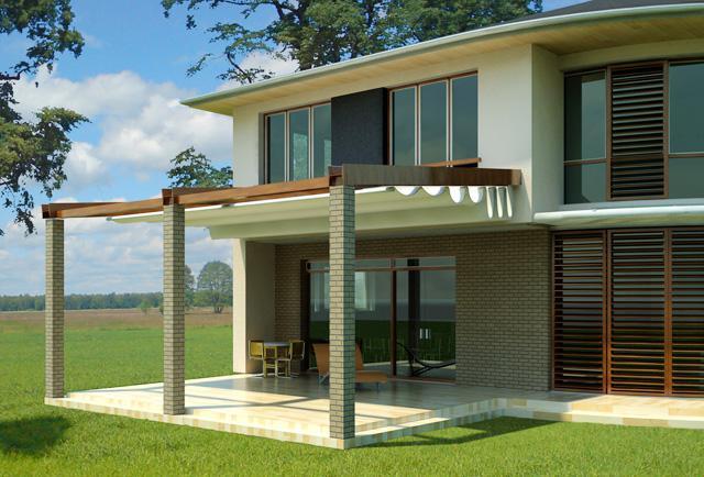 3D návrh domu - Obrázok č. 22