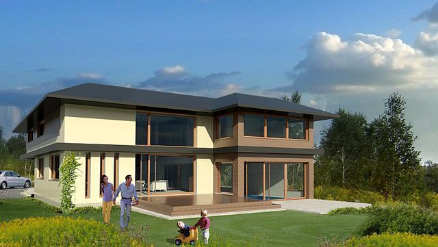 3D návrh domu - Obrázok č. 20