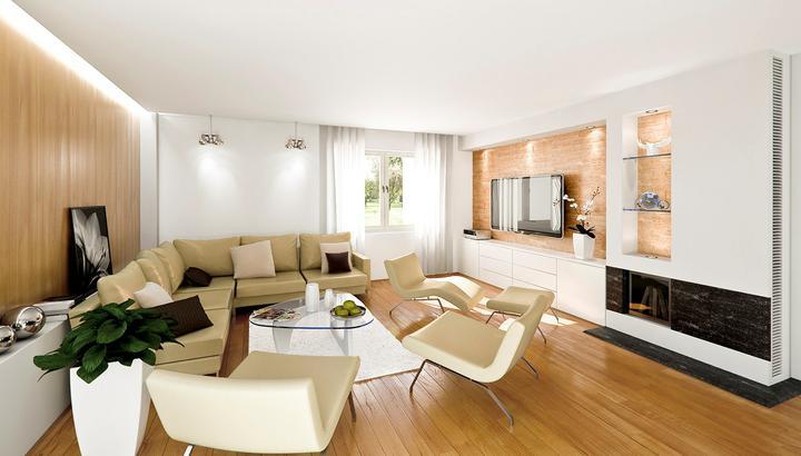 3D návrh obývačky - Obrázok č. 14