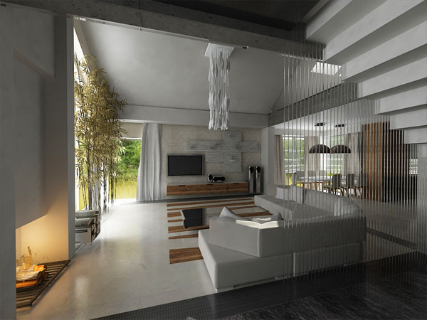3D návrh obývačky - Obrázok č. 18
