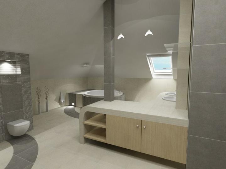 3D návrh kúpelní - Obrázok č. 48