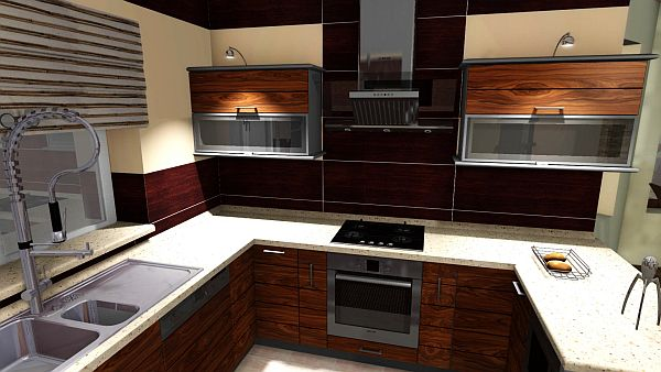 3D návrh kuchýň - Obrázok č. 17