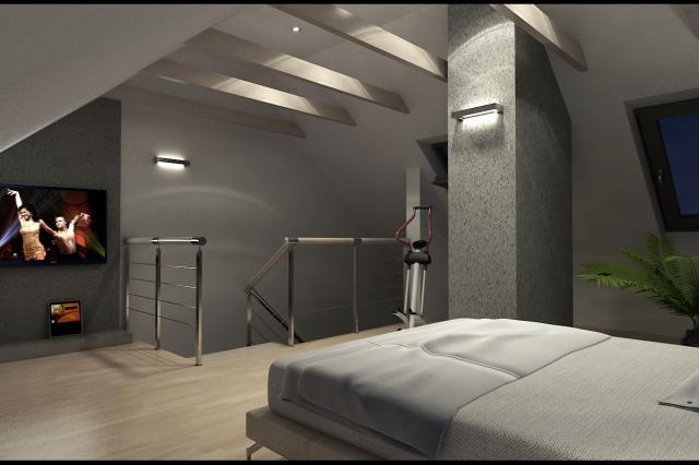 3D návrh spálni - Obrázok č. 5