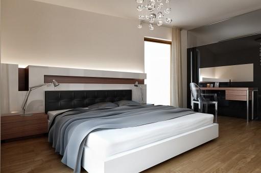 3D návrh spálni - Obrázok č. 10