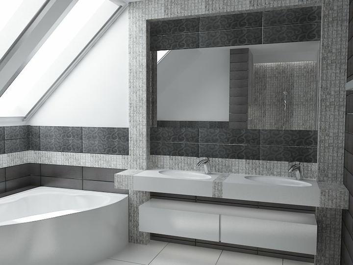 3D návrh kúpelní - Obrázok č. 63