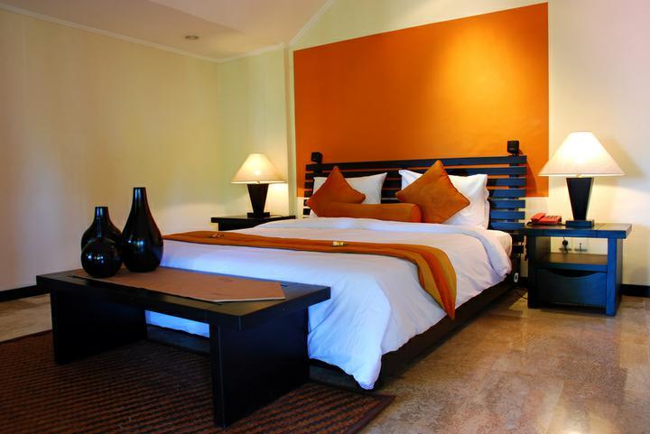3D návrh spálni - bed room interior