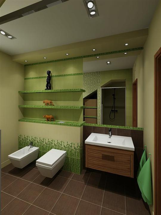 3D návrh kúpelní - Obrázok č. 65