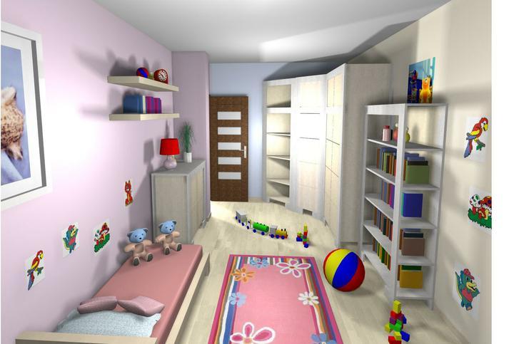 3D návrh detských izieb - Obrázok č. 13