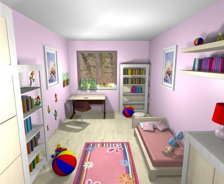 3D návrh detských izieb - Obrázok č. 14