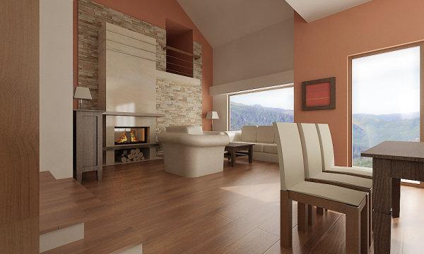 Úsilie o útulný a teplý domov - inšpirácie - toto je pre mňa farebne dokonalé...pôsobí to čisto a útulne...len neviem,čo je to za odtieň dlážky...