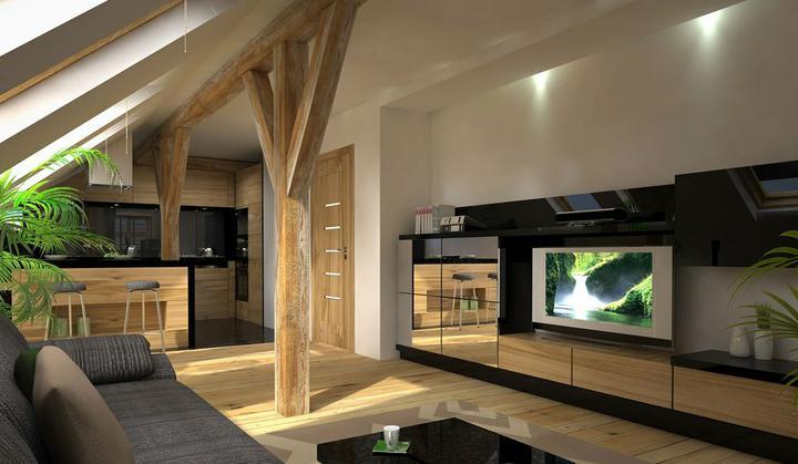 3D návrh obývačky - Obrázok č. 48