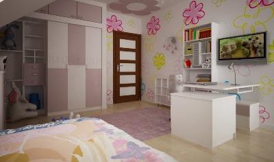 3D návrh detských izieb - Obrázok č. 27