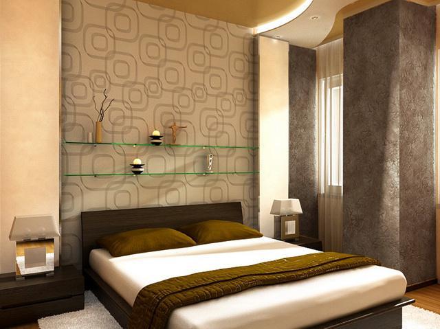 3D návrh spálni -