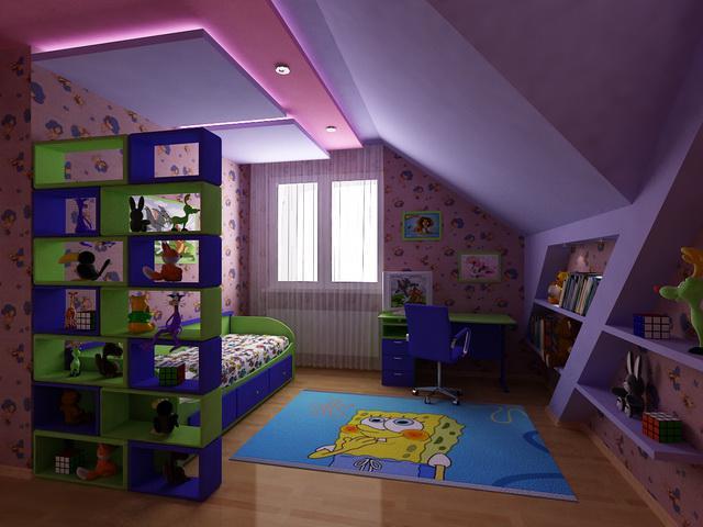 3D návrh detských izieb - Obrázok č. 54
