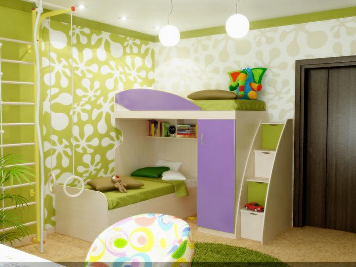 3D návrh detských izieb -