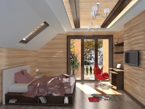 3D návrh spálni - Obrázok č. 65