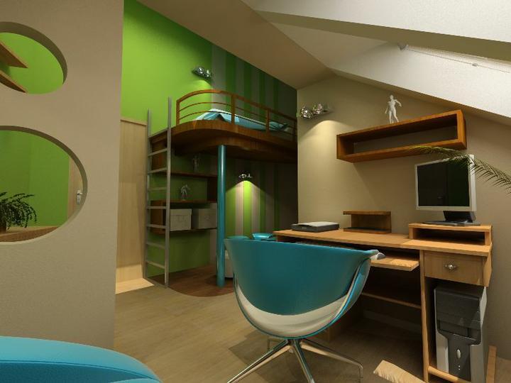 3D návrh detských izieb - Obrázok č. 80